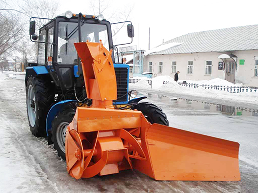 Ковш самодельный для уборки снега